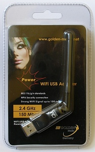 WiFi USB Adapter Golden Media