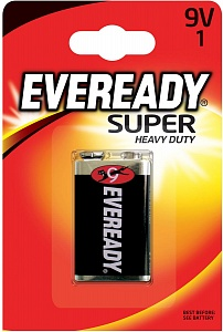 Батарейка EVEREADY SUPER 6F22 1шт 9V