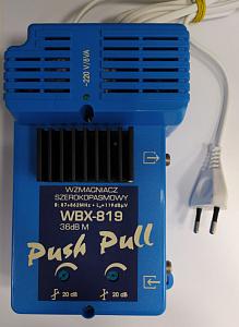 WBX81936M, усилитель домовой,  5-65/87-862MГц, усиление 36 дБ, выход 119 дБмкВ, (TELKOM-TELMOR)