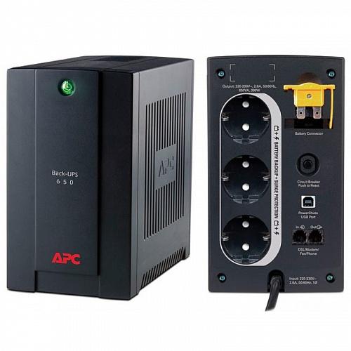 ИБП APC Back-UPS 650 ВА